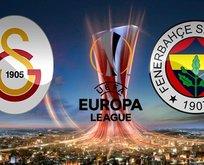 İşte Galatasaray ve Fenerbahçe'nin UEFA Avrupa Ligi kadrosu