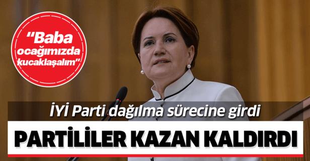 İYİ Parti'de neler oluyor? Partililer Akşener'e kazan kaldırdı!