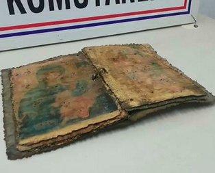 Bursa'da bin yıllık İncil bulundu!