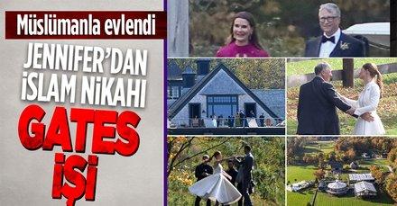 Bill Gates'in kızı Jennifer, Müslüman jokey Nayel Nassar ile İslam nikahı kıyarak evlendi
