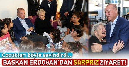 Cumhurbaşkanı Erdoğana Kasımpaşada sevgi seli