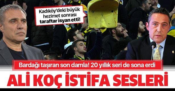 Kadıköy'de Ali Koç ve Yanal'a istifa çağrısı