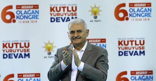 Başbakan: Terörü Türkiyenin gündeminden düşüreceğiz