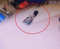 Köpek kaçtı... Sürücü beyin kanaması geçirdi