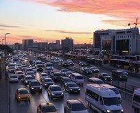İstanbul trafiğinde son durum! Kısıtlama öncesi...