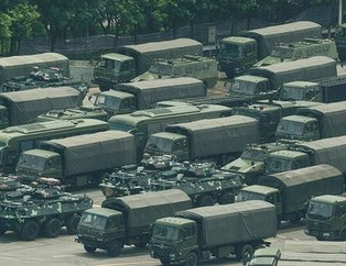 Çin'den gövde gösterisi! Savaşın ayak sesleri...
