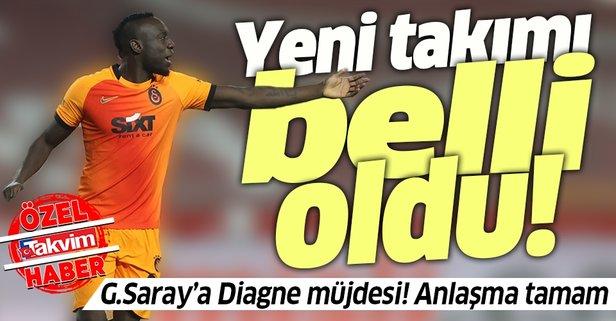 Galatasaray'a Diagne müjdesi! Takımdan ayrılıyor...