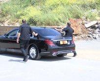Erdoğan selam vermek için konvoyu durdurdu