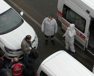 Kars'ta koronavirüs alarmı! Çinli kişiyi görünce etrafını sarıp...