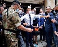 Lübnan'dan Macron'a işlerimize karışıyor tepkisi