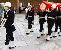 Şehit polis memuru Edirne'de toprağa verildi