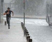 İstanbul ve çevresine sağanak yağış geliyor