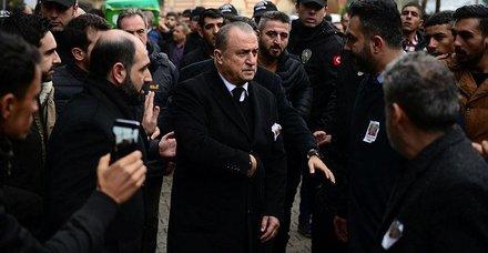 Fatih Terim'in babası Talat Terim ebediyete uğurlandı