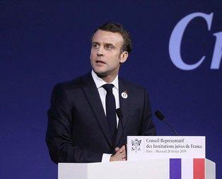 Fransa'da şok! Macron'u 'rehin' aldılar!