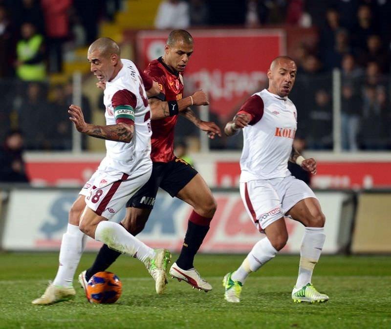 Sanica Boru Elazığspor - Galatasaray: 0-1