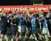 U-19'da şampiyon Trabzonspor
