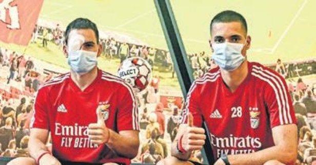 Benfica otobüsüne taraftarlar saldırdı