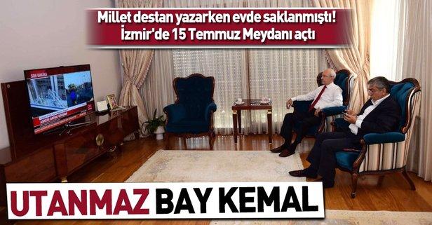Darbe girişimi gecesi evde saklanan Kılıçdaroğlu 15 Temmuz Meydanı açtı -  Takvim