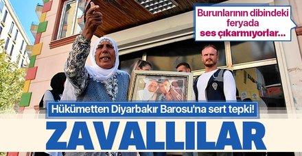 Bakan Soylu'dan acılı anneleri görmezden gelen Diyarbakır Barosu'na sert tepki: Zavallılar