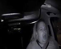 Uber yayaya böyle çarptı
