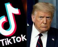 Trump'tan kritik Tiktok kararı