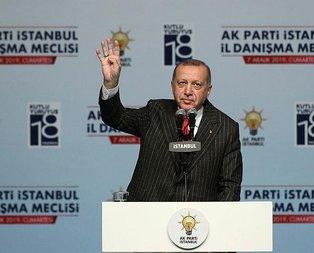 Başkan Erdoğan'dan Şehir Üniversitesi açıklaması