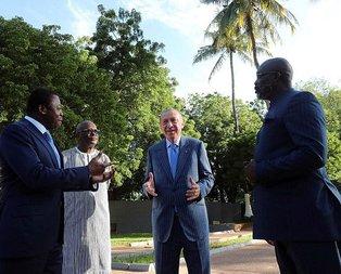 Amacımız Afrika ile birlikte yol yürümektir