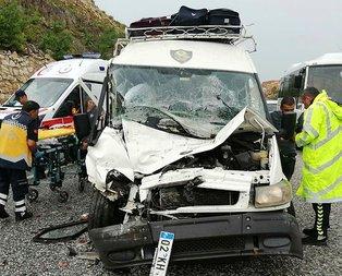 Muğla'da feci kaza! Çok sayıda yaralı var