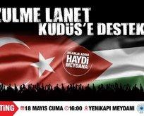 Kudüs için ayaktayız