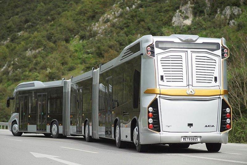 Dev metrobüsler geliyor
