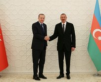 Başkan Erdoğan'dan Karabağ zaferi sonrası Aliyev'e tebrik