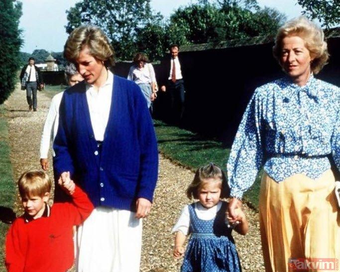 Prenses Diananın ölümünden önce annesiyle yaptığı telefon konuşması şoke etti