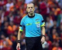 Cüneyt Çakır Suudi Arabistanda maç yönetecek