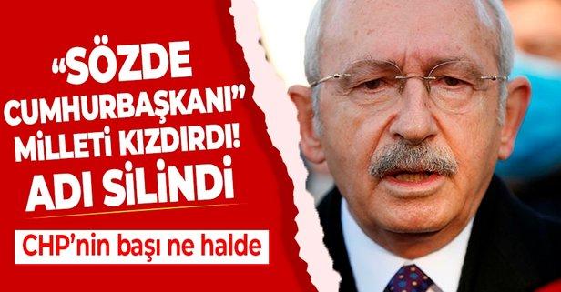 Kılıçdaroğlu'nun ismi bulvardan silindi