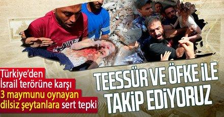 İsrail terörüne sessiz kalanlara sert tepki!