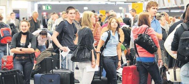 Uçağı kaçırana 2 bin 400 lira