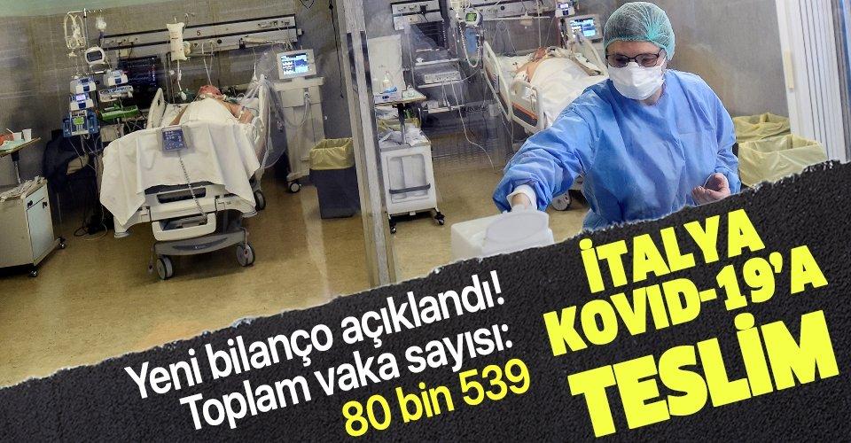 Son dakika: İtalya'da koronavirüs (Kovid-19) bilançosu artıyor: Ölü sayısı 8 bin 165'ye yükseldi