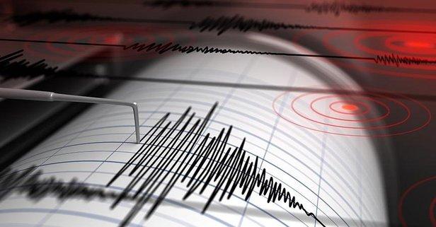 Marmara Denizinde korkutan deprem