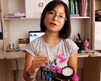 Küçük Miradan anlamlı robot!
