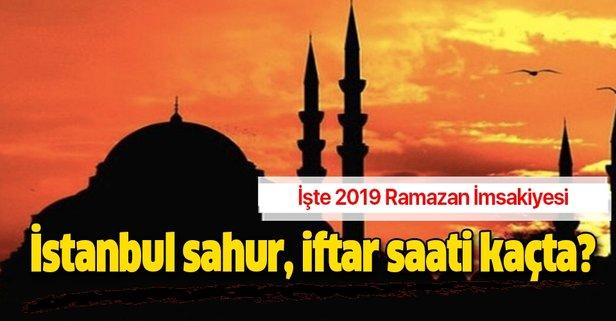 istanbulda iftar vakti 2019