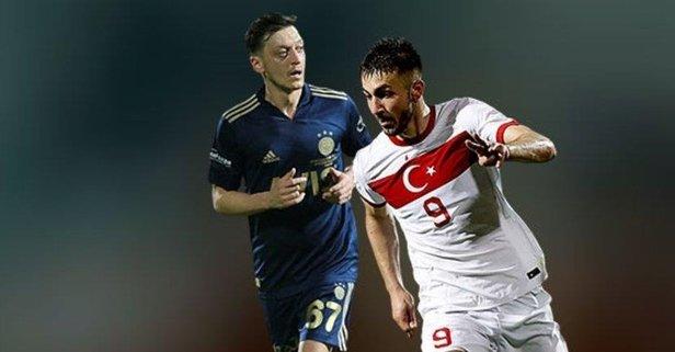Mesut Özil, EURO 2020 ilk 11'ini yaptı!