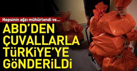 ABD'de kullanılan oylar Türkiye'ye gönderildi
