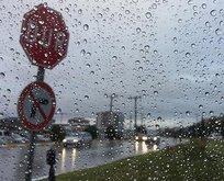 Meteoroloji'den 3 il için sağanak yağış uyarısı