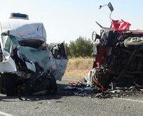 Gaziantep'te feci kaza! Çok sayıda ölü ve yaralı var