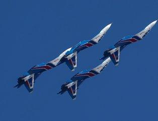 Rus Şövalyeleri TEKNOFEST'te! Su-30 pilotlarının gösteri uçuşu nefes kesti