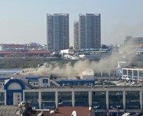 15 Temmuz Demokrasi Otogarı'nda yangın!