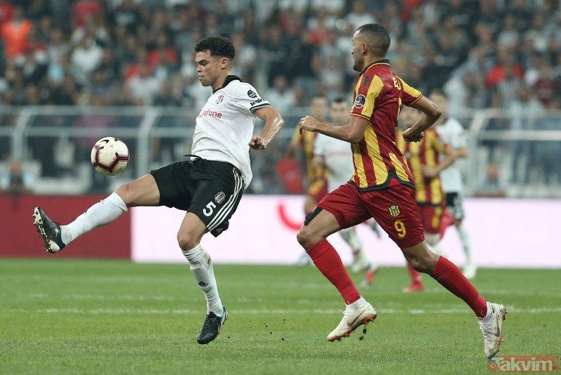 Beşiktaş, evinde Yeni Malatyasporu 2-1 mağlup etti