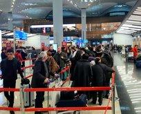 Havalimanlarında  'Yarıyıl tatili' yoğunluğu