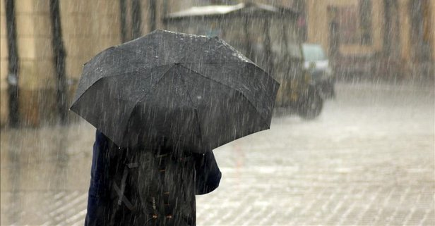 Meteorolojiden 9 il için kuvvetli yağış uyarısı!