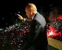 """Erdoğan: """"Tarih yazıyorsunuz"""""""